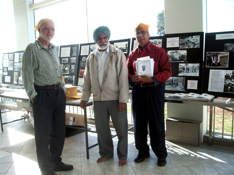 Australian Indian Historical Society At Parklea Gurudwara Sydney NSW. 2010 Photo: Crystal Jordan