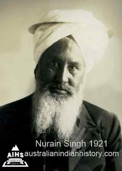 Nurain Singh returned to Indian in 1921