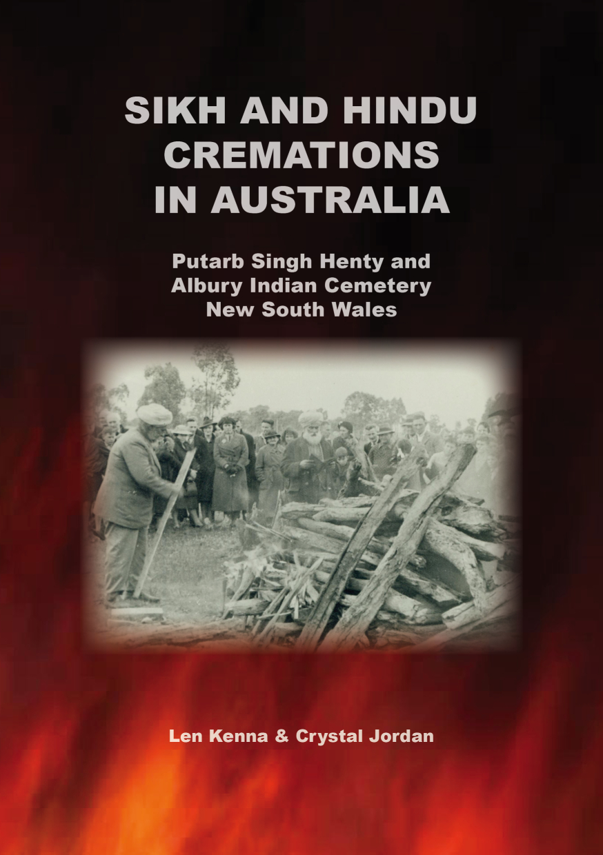 2015 Putarb Singh Henty & The Albury Indian Cemetery BOOK COVER FRONT SM