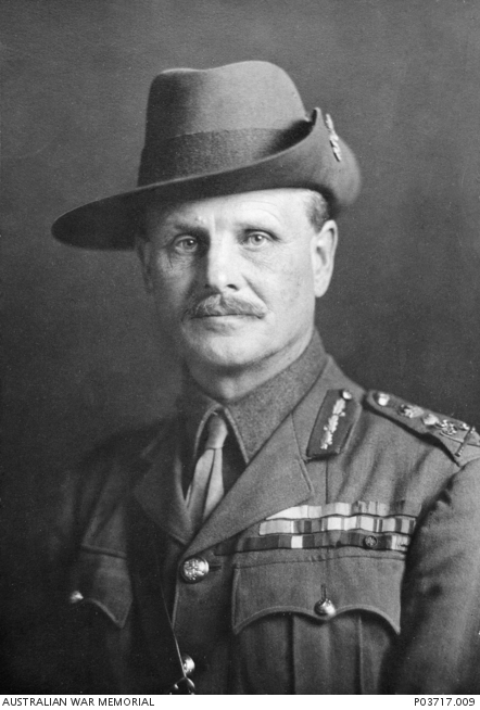 Field Marshal William Riddell Birdwood. Courtesy Of Australian War Memorial