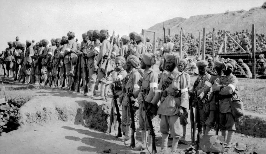 Sikh Soldiers Gallipoli - Photo: Rev Ernest Northcroft.