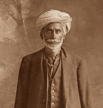 SHAM SINGH 1917. Courtesy Of New Zealand Archives.
