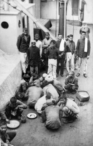 INDIAN SAILORS COLD AND TREATED BADLY