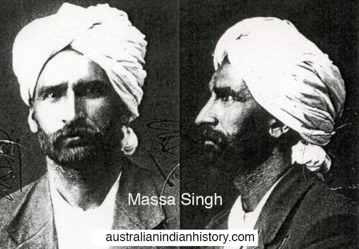 Massa Singh, Leederville, Western Australia. Courtesy of National Archives.