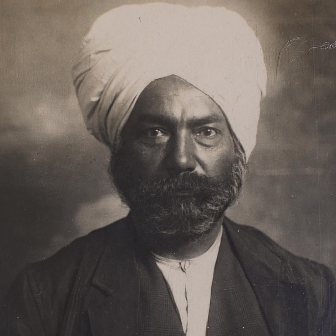 Bhugwan Singh 1927. Photo Courtesy National Archives Australia