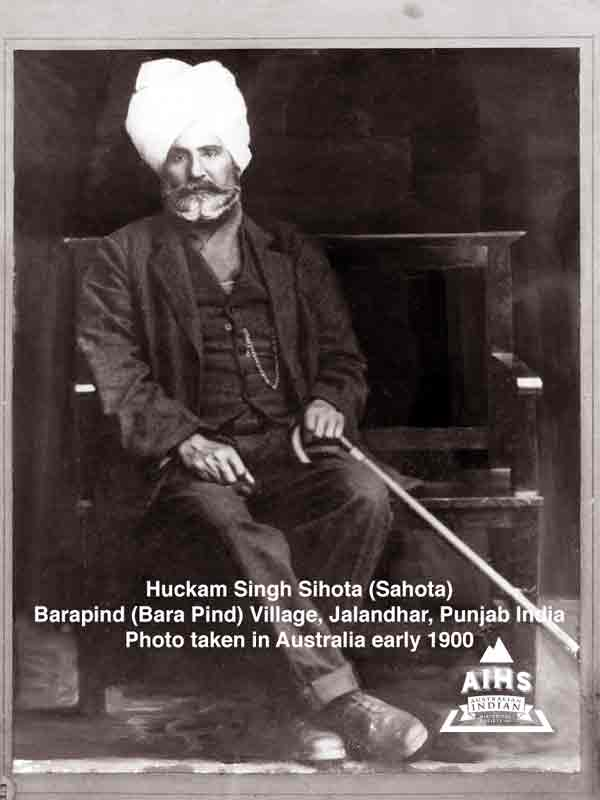 Singh Hukam Australian Indian Historical Society