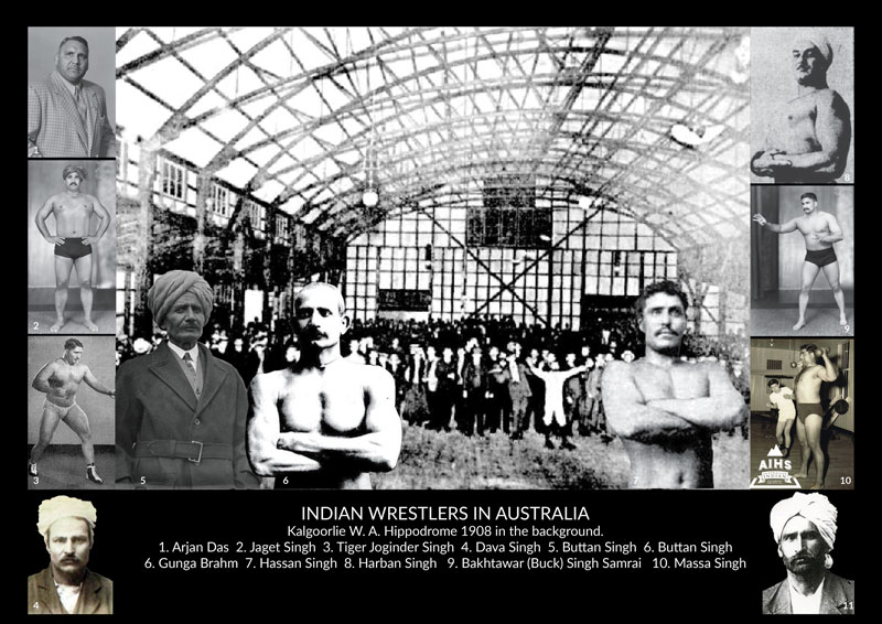 AUSTRALIAN SIKH & HINDU – INDIAN WRESTLERS