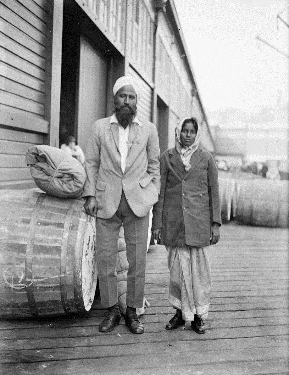 BOLAH/BHOLA SINGH – DAIRY FARMER NEW ZEALAND 1924