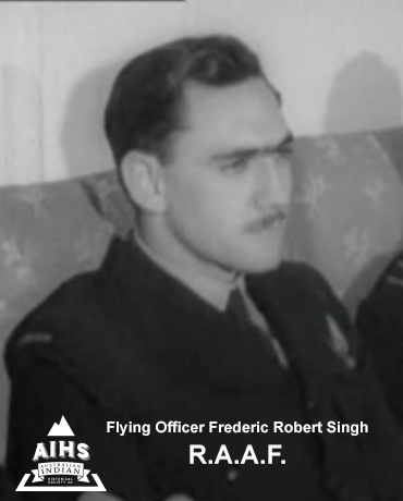 Flying Officer Frederic Robert Hamilton Singh R.A.A.F. – P. O. W. – WWII