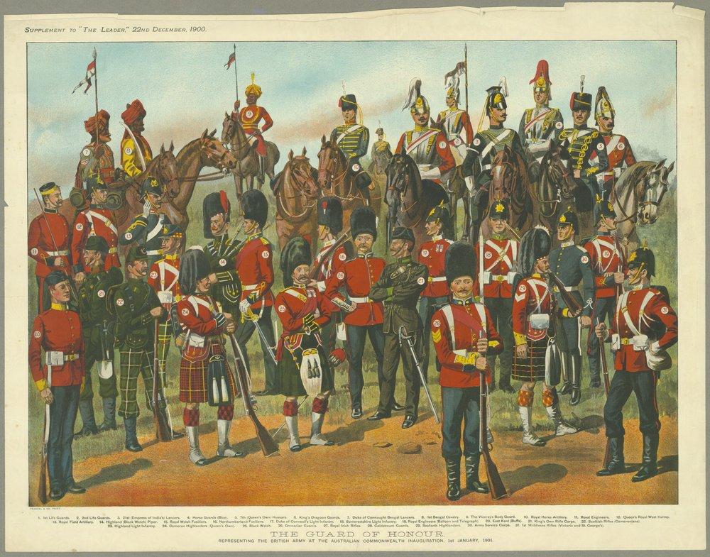 Guard of Honour Commonwealth of Australia 1901.jpg