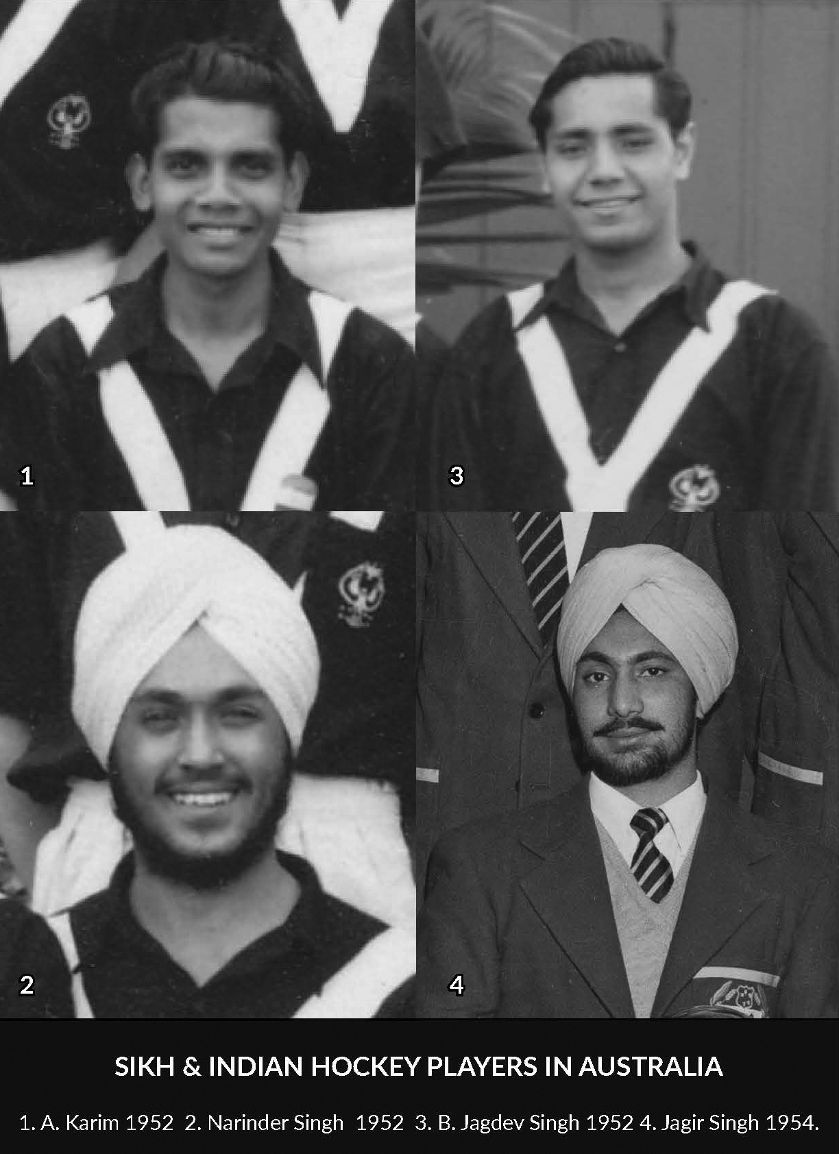Sikh And Indian Hockey Players In Australia
