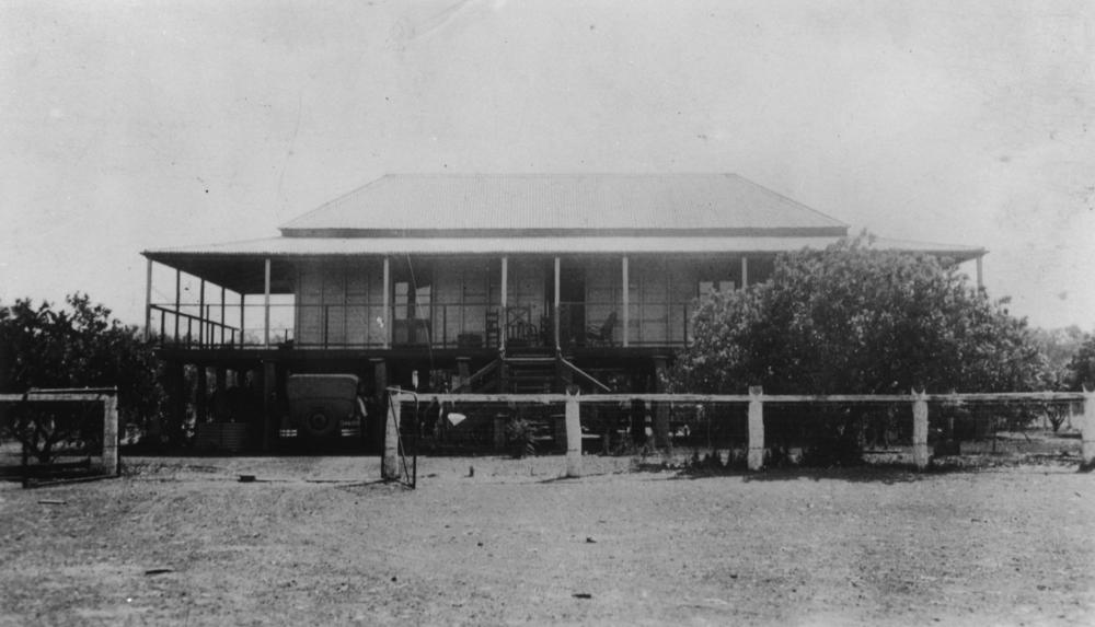 Homestead At Punjaub Station, North Of Lawn Hills, North Queensland North Of Lawn Hills. Courtesy Of John Oxley Lib., State Library Qld.