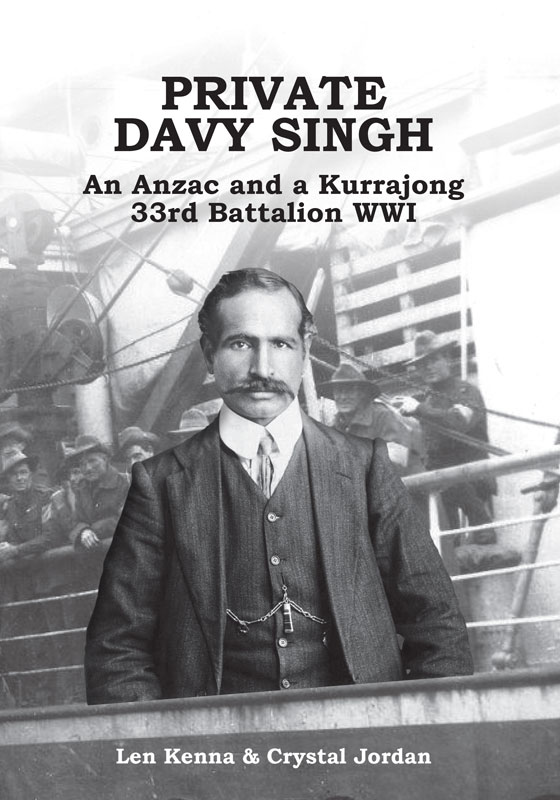 Private Davy Singh An Anzac
